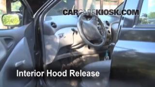 Open Hood How To 2000-2005 Toyota Echo