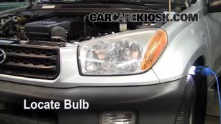Highbeam (Brights) Change: 2001-2005 Toyota RAV4