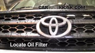 Oil & Filter Change Toyota RAV4 (2001-2005)