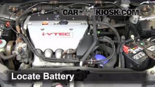 How to Clean Battery Corrosion: 2002-2006 Acura RSX
