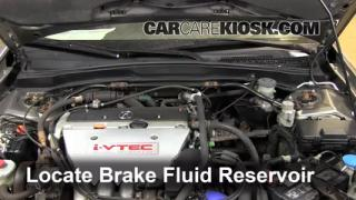 2002-2006 Acura RSX Brake Fluid Level Check