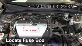 Replace a Fuse: 2002-2006 Acura RSX