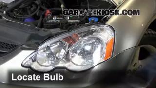 Highbeam (Brights) Change: 2002-2006 Acura RSX