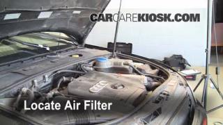 2002-2008 Audi A4 Quattro Cabin Air Filter Check