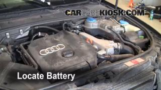 How to Clean Battery Corrosion: 2002-2008 Audi A4 Quattro
