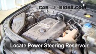 Fix Power Steering Leaks Audi A4 Quattro (2002-2008)