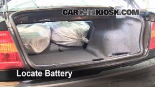 Battery Replacement: 1999-2006 BMW 325i
