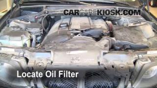 Oil & Filter Change BMW 325i (1999-2006)