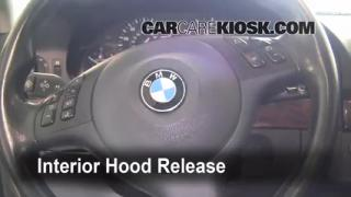 Open Hood How To 1997-2003 BMW 530i