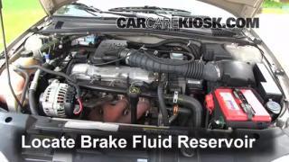 1995-2005 Chevrolet Cavalier Brake Fluid Level Check