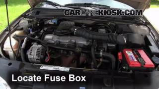 Blown Fuse Check 1995-2005 Chevrolet Cavalier