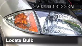 Highbeam (Brights) Change: 1995-2005 Chevrolet Cavalier