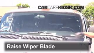 Front Wiper Blade Change Dodge Ram 1500 Van (1994-2003)