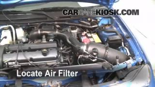 1997-2003 Ford Escort Engine Air Filter Check