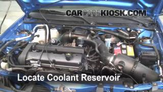Coolant Level Check: 1997-2003 Escort