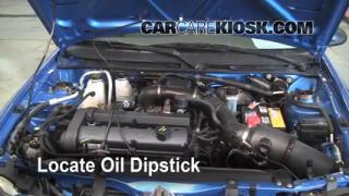 Check Oil Level 1997-2003 Ford Escort
