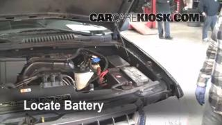 Battery Replacement: 2002-2005 Ford Explorer