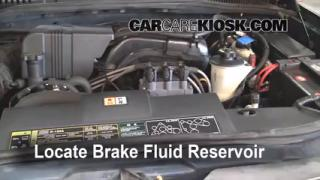2002-2010 Ford Explorer Brake Fluid Level Check