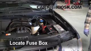 Blown Fuse Check 2002-2005 Ford Explorer