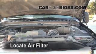 Air Filter How-To: 1999-2007 Ford F-250 Super Duty