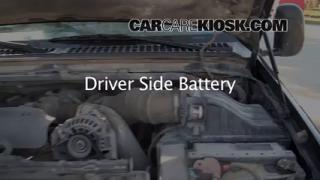 How to Clean Battery Corrosion: 1999-2007 Ford F-250 Super Duty
