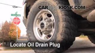 Oil & Filter Change Ford F-250 Super Duty (1999-2007)