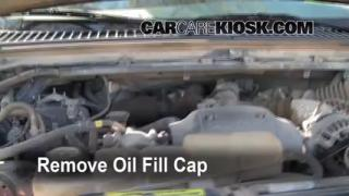 How to Add Oil Ford F-250 Super Duty (1999-2007)