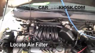 Cabin Filter Replacement: 2000-2007 Ford Taurus