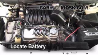 How to Clean Battery Corrosion: 2000-2007 Ford Taurus