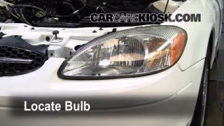 Highbeam (Brights) Change: 2000-2007 Ford Taurus