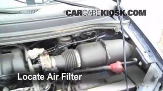 1999-2003 Ford Windstar Engine Air Filter Check