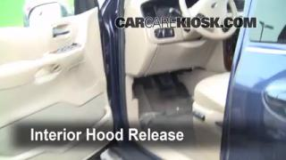 Open Hood How To 1999-2003 Ford Windstar