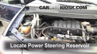 Follow These Steps to Add Power Steering Fluid to a Ford Windstar (1999-2003)