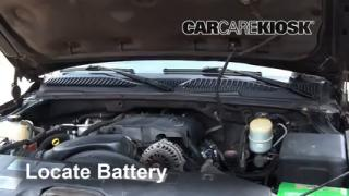 How to Clean Battery Corrosion: 2000-2006 GMC Yukon XL 2500
