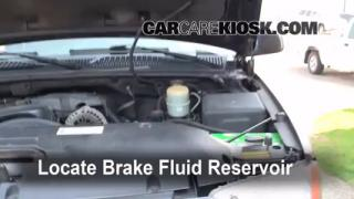 2000-2006 GMC Yukon XL 2500 Brake Fluid Level Check