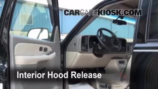 Open Hood How To 2000-2006 GMC Yukon XL 2500