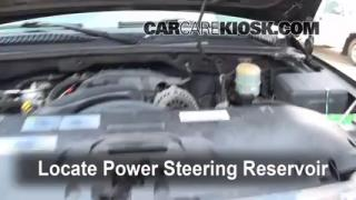 Follow These Steps to Add Power Steering Fluid to a GMC Yukon XL 2500 (2000-2006)