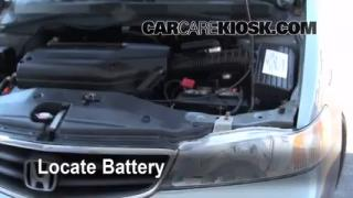 Battery Replacement: 1999-2004 Honda Odyssey