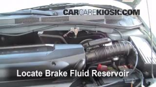 Add Brake Fluid: 1999-2004 Honda Odyssey