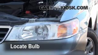 Headlight Change 1999-2004 Honda Odyssey