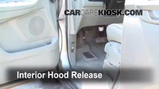 Open Hood How To 1999-2004 Honda Odyssey