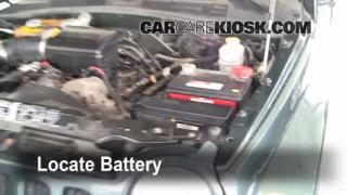 Battery Replacement: 2002-2007 Jeep Liberty