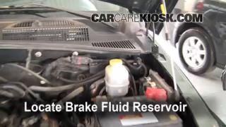 Add Brake Fluid: 2002-2007 Jeep Liberty
