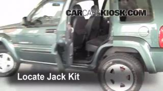2002-2007 Jeep Liberty Jack Up How To