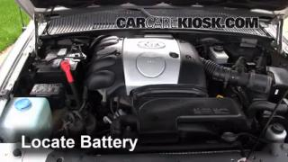 How to Clean Battery Corrosion: 1995-2002 Kia Sportage