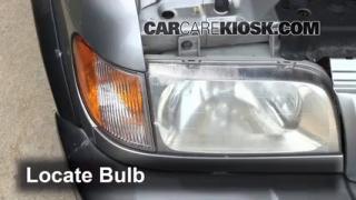 Parking Light Change 1995-2002 Kia Sportage