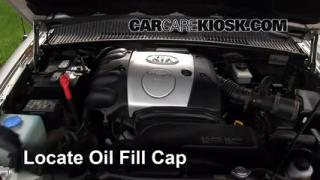 How to Add Oil Kia Sportage (1995-2002)