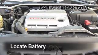 Battery Replacement: 2002-2006 Lexus ES300