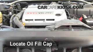 How to Add Oil Lexus ES300 (2002-2006)