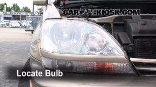 Fog Light Replacement 1999-2003 Lexus RX300